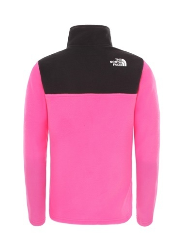 The North Face Glacıer 1/4 Zıp Çocuk Polar Pembe Pembe